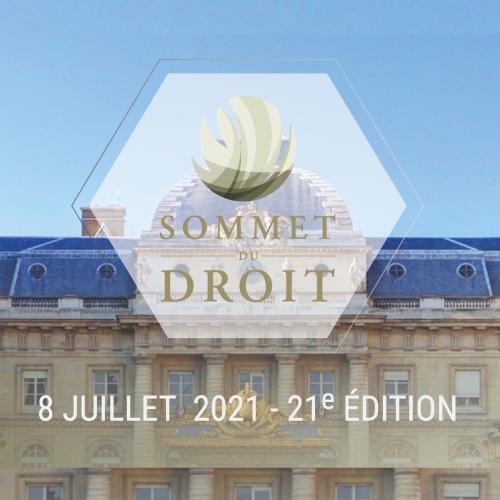 plénière d'ouverture du Sommet du Droit